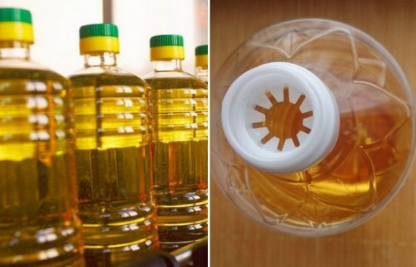 Интересное: Для чего горлышке бутылки подсолнечного масла прорези?