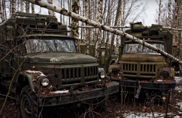 Интересное: Свалка военной техники