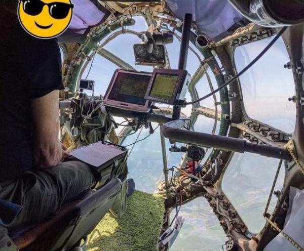 Интересное: Место штурмана в АН-30Д
