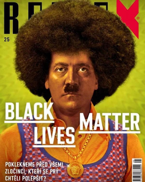 Интересное: Номер чешского еженедельника Reflex с очень неоднозначной обложкой