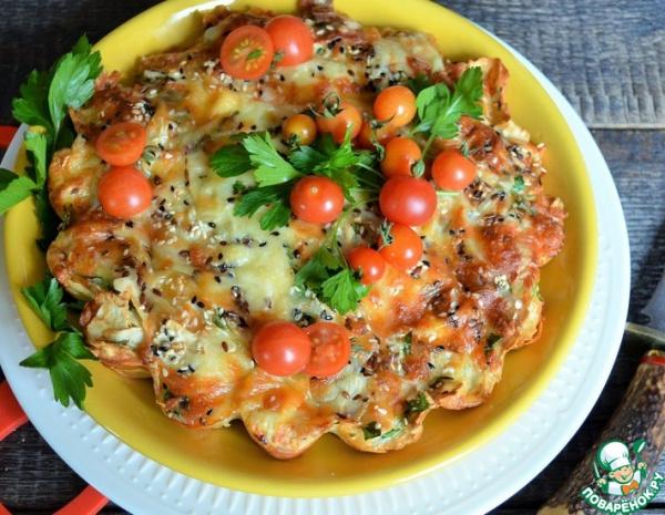 Кухня: Рваный пирог из лаваша
