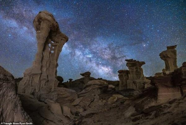 Природа: Снимки Млечного пути с конкурса астрофотографии