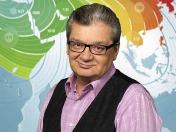 Личность: Умер самый известный телеведущий прогноза погоды Александр Беляев