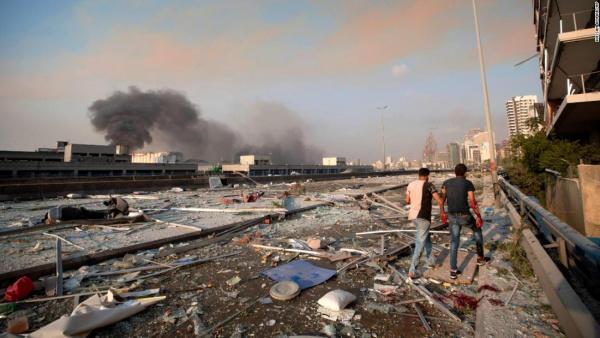 Происшествия: В Бейруте взорвалось судно с почти тремя тысячами тоннами аммиачной селитры