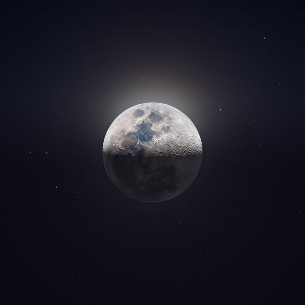 Природа: Сверхдетальное фото Луны с телескопа 2000 мм