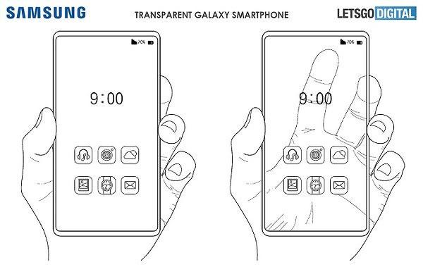 Интересное: Samsung показывает прозрачный смартфон