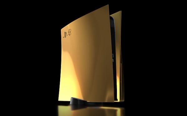 Игры: Представлена золотая PlayStation 5 за 817 тысяч рублей