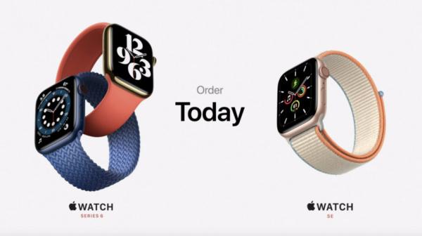Технологии: Apple представила Watch Series 6 и Watch SE