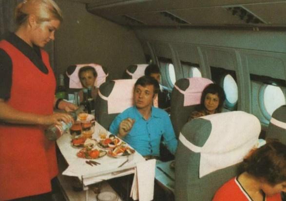 Интересное: Реклама Аэрофлота времен СССР