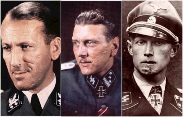 Интересное: Почему у многих немецких офицеров все лицо было в шрамах?
