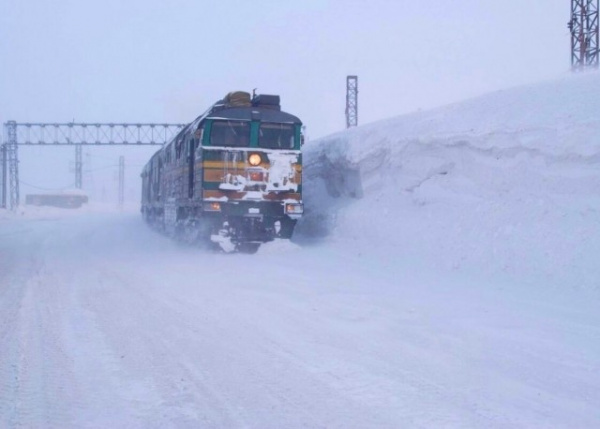 Природа: Норильская железная дорога