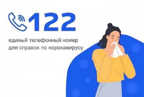Коронавирус: В России ввели единый бесплатный номер 122 по коронавирусу