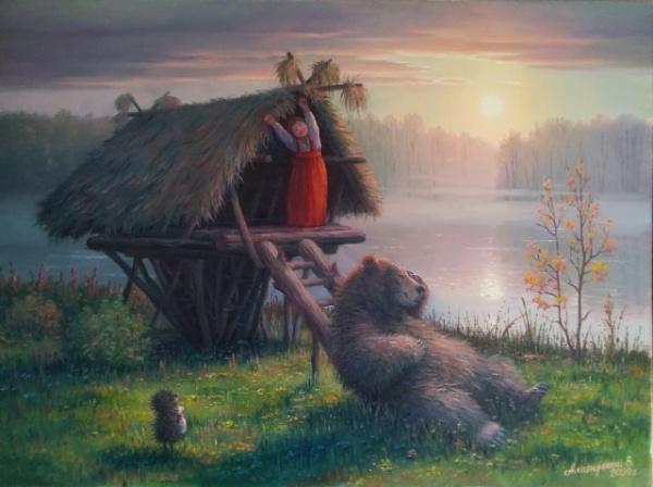 Картинки: Вячеслав Алатырский. Художник, который несет добро