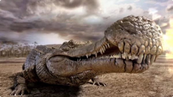 Животные: Саркозух - ужас из прошлого