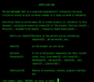 Технологии: Первому веб-сайту исполнилось 30 лет