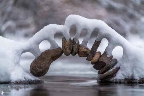 Природа: Снежная красота