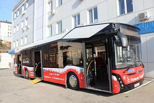 Блог djamix: В Сочи протестируют новую модель автобуса
