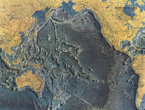 Интересное: Рельеф дна Мирового океана