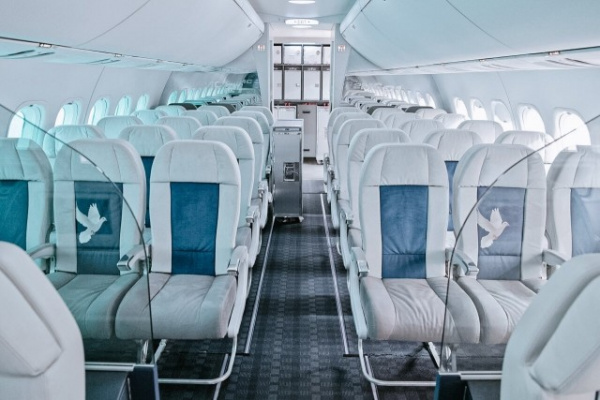 Интересное: Путешествие по салону авиалайнера МС–21