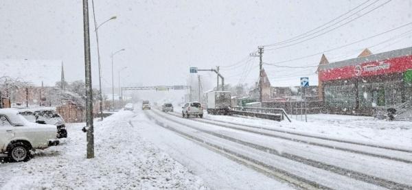 Блог djamix: В Адлере снова зима:-)