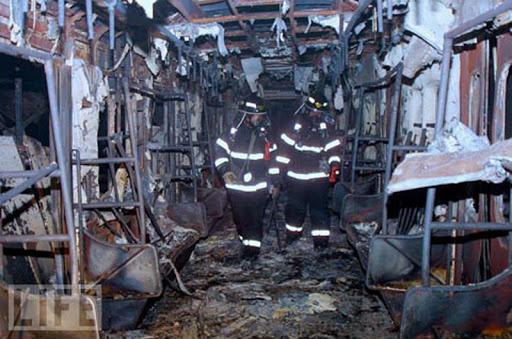 Происшествия: Пожар в Южнокорейском метро в 2003м году