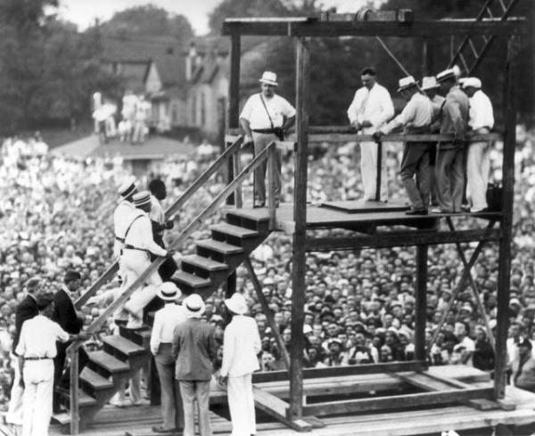 Право и закон: Последняя публичная казнь в США