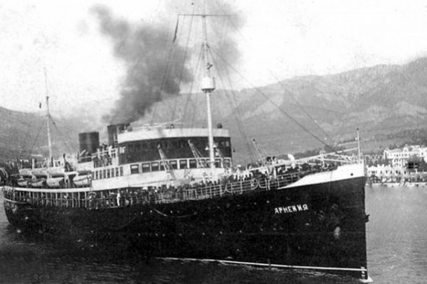 Новости: Потопленное немцами у берегов Крыма санитарное судно Армения признано братской могилой