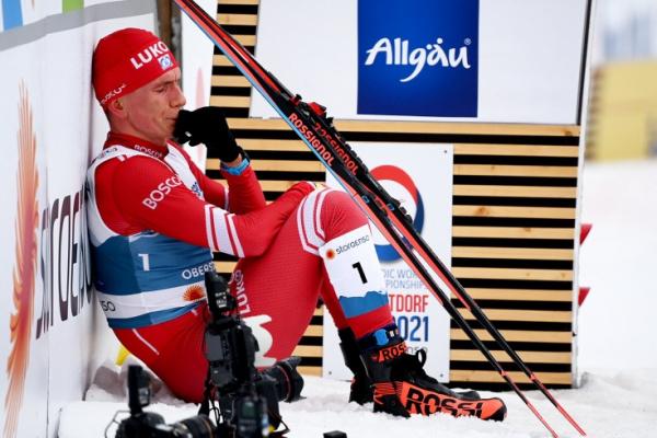 Спорт: Большунова довели до слёз на финише марафона