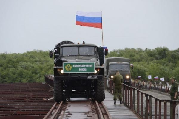 Новости: Железнодорожные войска начали строить вторую ветку БАМа