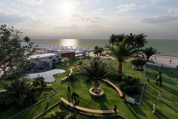 Адлер: К сезону в Сочи реконструируют пляж Маяк