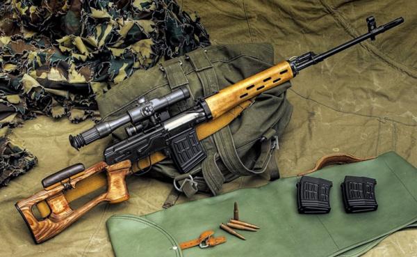 Интересное: Снайперская винтовка Драгунова