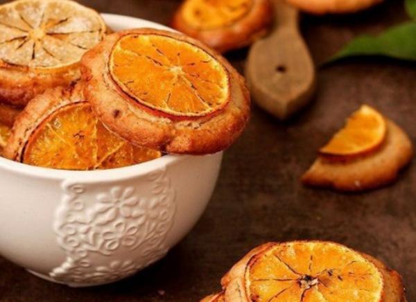 Полезные советы: Миндальное печенье с мандаринами