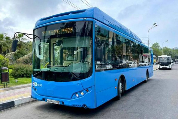 Блог djamix: В Сочи тестируют работающие на газе автобусы