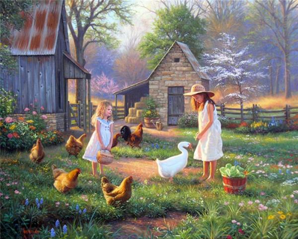 Картинки: Добрые картины Марка Китли