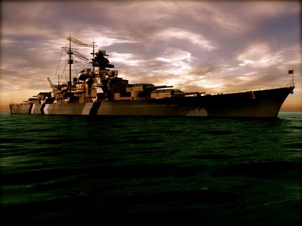 Война: Линкор *Бисмарк*