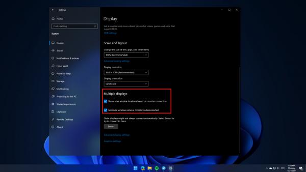 Технологии: Windows 11 получит улучшенную поддержку работы с несколькими мониторами