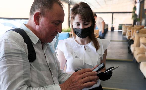 Коронавирус: Пропускной режим: кто и как сможет попасть в московские рестораны с 28 июня.