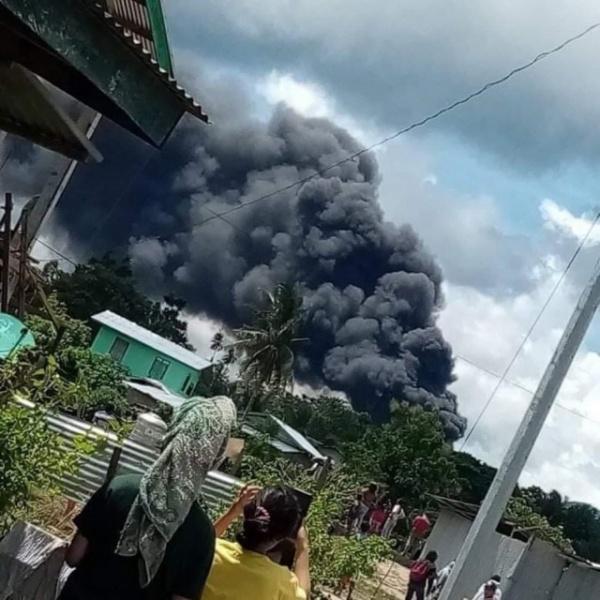 Происшествия: Военно-транспортный самолёт C-130H разбился на Филиппинах