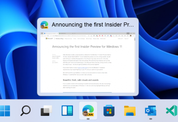 Технологии: Windows 11 Insider Preview Build 22000.71 (канал Dev)