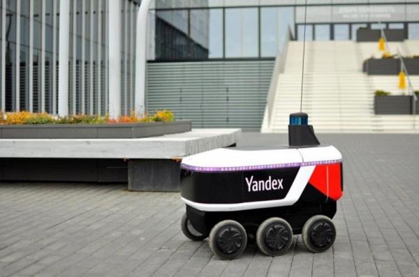 Интересное: «Яндекс» выпустил своих роботов-доставщиков на улицы городов