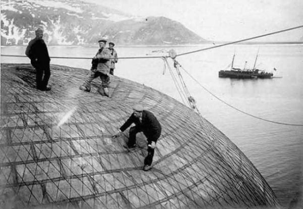 История: Арктическое путешествие Андре на воздушном шаре