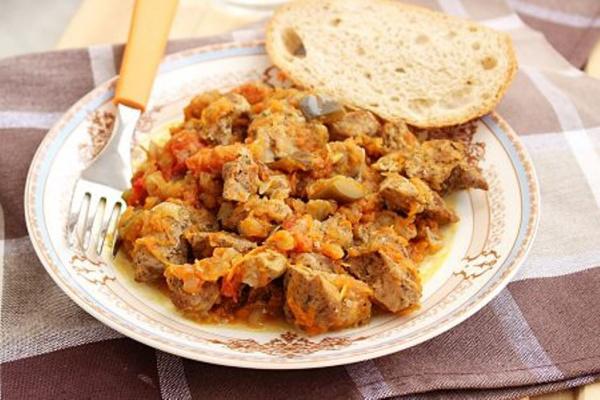 Полезные советы: Мясо с баклажанами в мультиварке