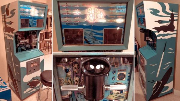 Игры: Игра *Морской бой* -  советский аналог американского *SeaRaider*