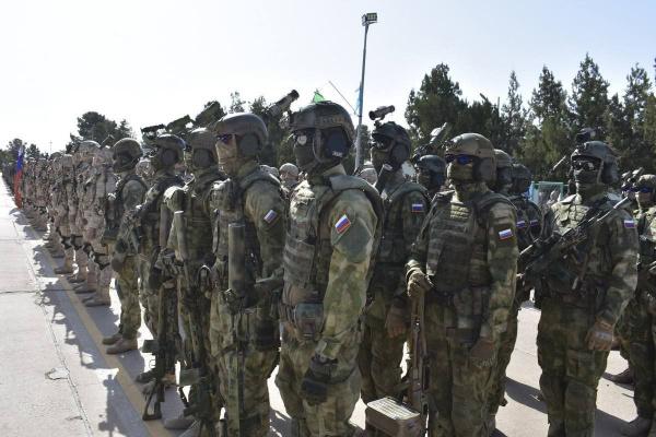 Война: Спецназ России на открытии совместных учений с ВС Узбекистана на границе с Афганистаном в Термезе
