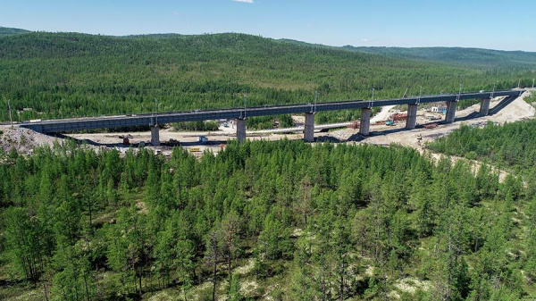 Экономика: Сергей Шойгу дал старт реконструкции восточной ветки БАМ. В конце 2024 года дорога будет введена в эксплуатацию