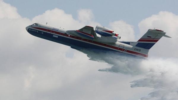 Происшествия: В Турции потерпел крушение Бе-200