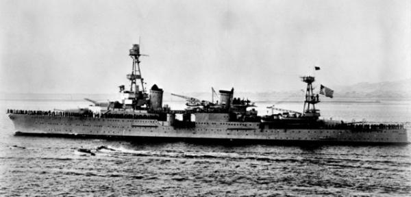 История: *Корабль отваги* австралийского флота: крейсер *Perth*