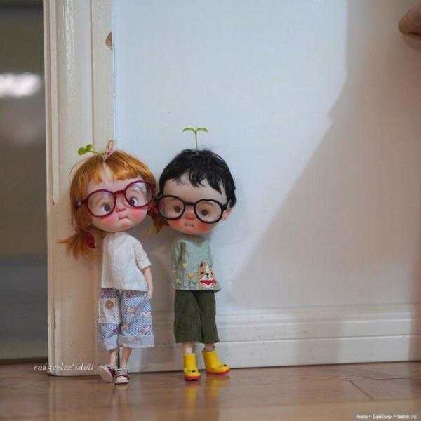 Интересное: Очаровательные куклы от Rodgerdollob11