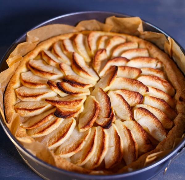 Полезные советы: Яблочный пирог с корицей