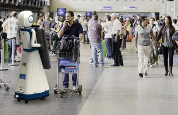 Интересное: Говорящий робот «Леночка» появился в аэропорту Внуково